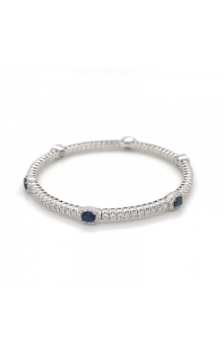 "Bigham Signature Diamond & Sapphire ""Stretch"" Bracelet 386-380 SA product image"