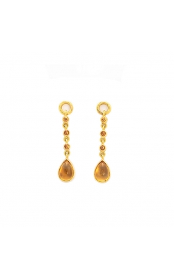 Elizabeth Locke Citrine Drop Earring Pendants ERP88092 product image