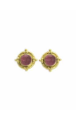 Elizabeth Locke Pink 'Man-in-the-Moon' Stud Earrings ER76009-Z product image