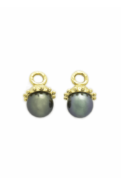 Elizabeth Locke Black Pearl Earring Pendants ERP6330 product image