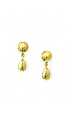 Elizabeth Locke Gold Drop Stud Earring ER91729 product image