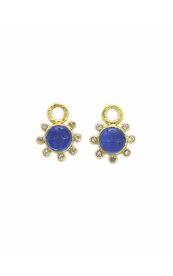 Elizabeth Locke Peacock 'Man In The Moon' Halo Earring Pendants ERP87955-O product image
