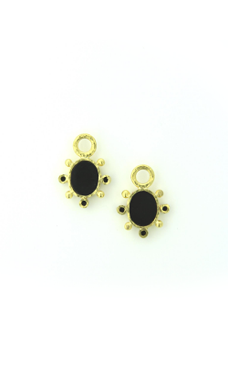 Elizabeth Locke Black 'Mosca' Earring Pendants For Hoops ERP90786-B product image