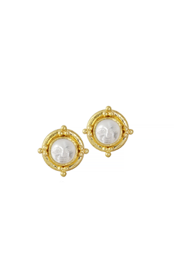 Elizabeth Locke Crystal 'Man-in-the-Moon' Stud Earrings ER76009-P product image