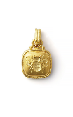 Elizabeth Locke 20mm x 20mm Bee Pendant P73312 product image