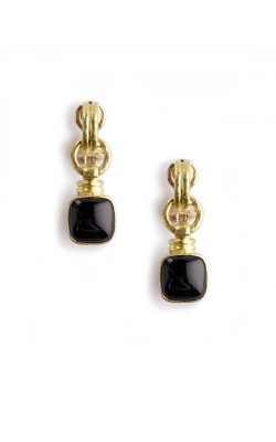 Elizabeth Locke Black Jade Drop Earrings ER102328 product image