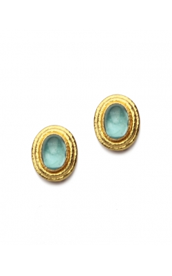 Elizabeth Locke Aqua Marine Earrings ER103396 product image