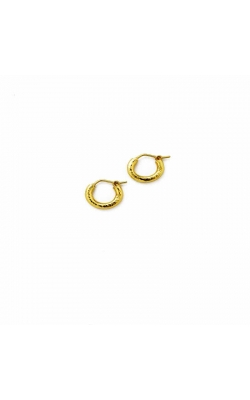 Elizabeth Locke Baby Hammered Hoops Earrings Earrings ER2198 product image