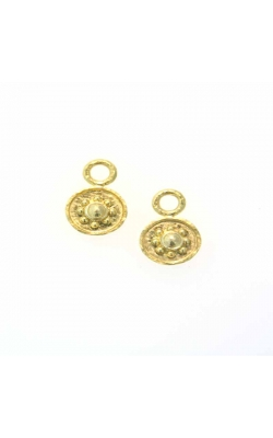 "Elizabeth Locke Gold ""Daisy"" Earring Pendants ERP82308 product image"