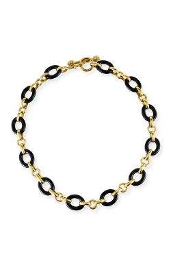 "Elizabeth Locke 17"" Black Jade Necklace N104092 product image"