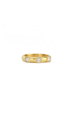 Elizabeth Locke Square Diamond Stack Ring R5815 product image