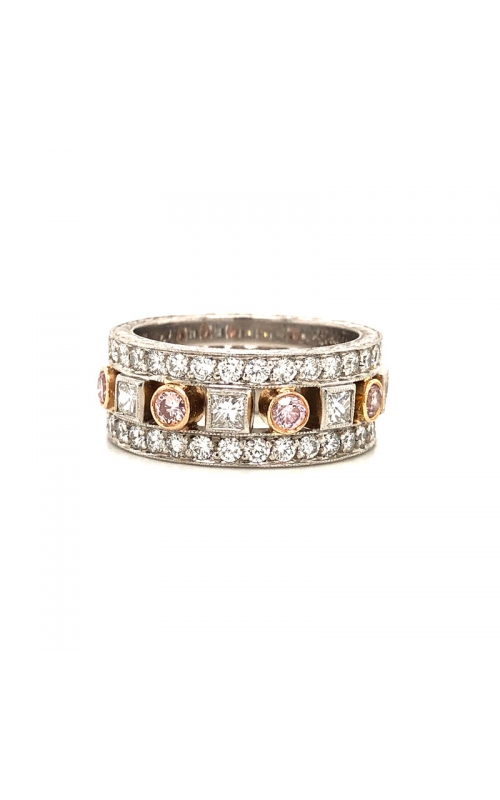 Pink and White Diamond Band product image