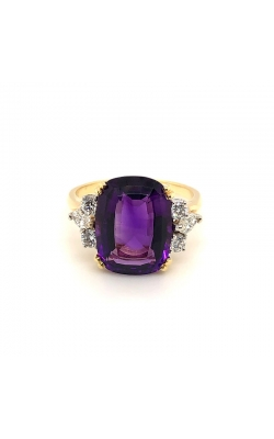 Amethyst and Diamond Ring product image