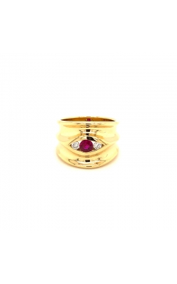 Ruby And Diamond Ring product image