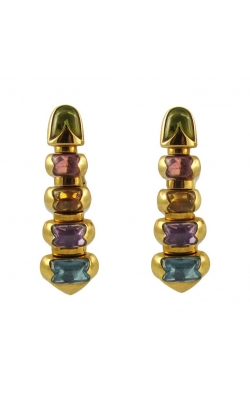 "Blvgari ""Celtic"" Multi-Color Drop Earrings product image"