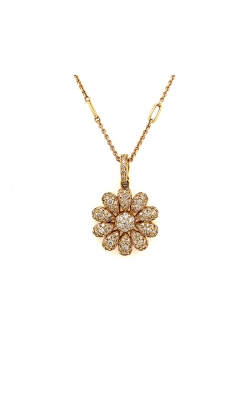 Diamond Flower Pendant product image