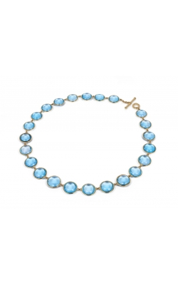 Goshwara Blue Topaz Necklace #JN0034-BT product image