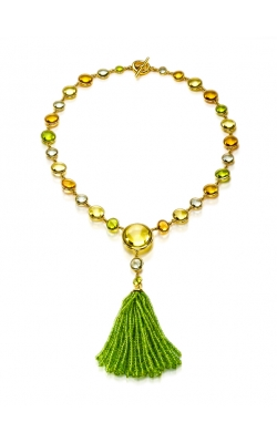 Goshwara Colored Stone Necklace #JN0050-05 product image