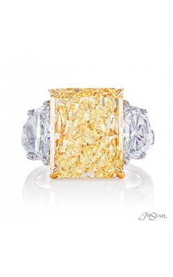 Fancy Yellow Radiant Diamond Ring 2347-041 product image