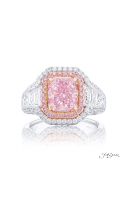 Radiant Cut Pink Diamond Ring 7007-088 product image
