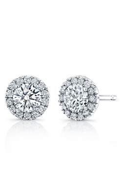 Halo Diamond Stud Earrings product image