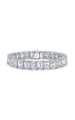 Emerald Cut Diamond Bracelet B1572 product image
