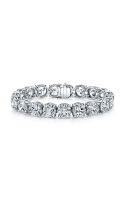 Round Brilliant Cut Diamond Bracelet B1817 product image