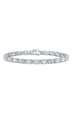 Oval Diamond Bracelet B2015 product image