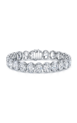 Oval Diamond Bracelet B2181 product image