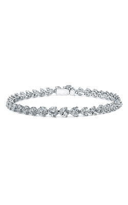 Heart Shape Diamond Bracelet B577 product image