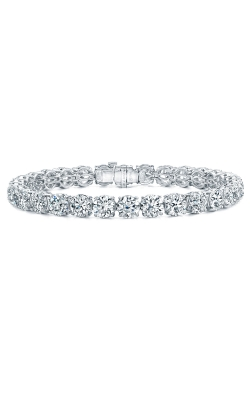 ROUND BRILLIANT CUT DIAMOND BRACELET B609 product image