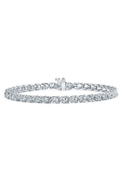 ROUND BRILLIANT CUT DIAMOND BRACELET  B622 product image