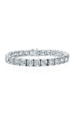 Asscher Cut Diamond Bracelet B881 product image