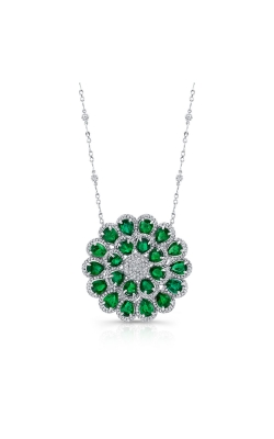 Emerald & Diamond  Necklace product image