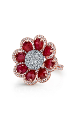 Diamond And Ruby Ring product image