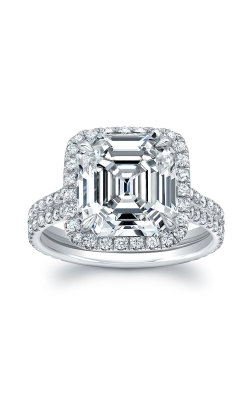 Asscher Cut Diamond Ring F13434 product image