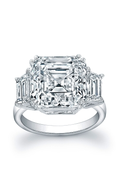 Emerald Cut Diamond Ring F8876 product image