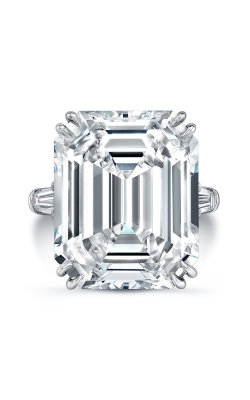 Emerald Cut Diamond Ring P2194  product image
