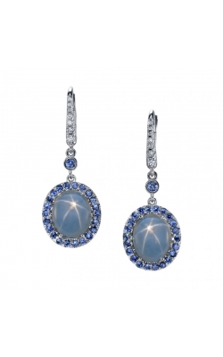 Omi Prive' Star Sapphire Earrings EC1450-SAST product image