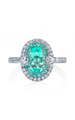 "Omi Prive' Duet ""Paraiba"" Ring R1966 product image"