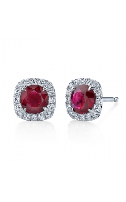 Omi Prive' Ruby Earrings S1303 product image