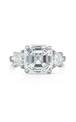 Oscar Heyman Asscher Cut Diamond Ring 301634 product image