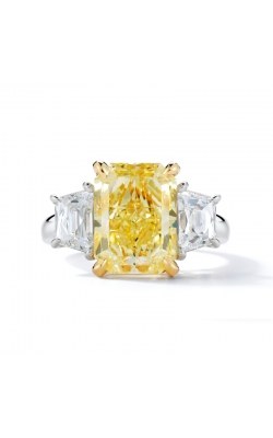 Oscar Heyman Fancy Yellow Diamond Ring 302513 product image