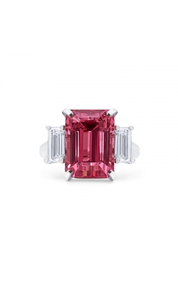 Oscar Heyman Pink Tourmaline & Diamond Ring 302974 product image