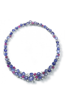 Oscar Heyman Sapphire and Ruby Necklace 601934 product image