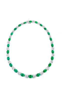 Oscar Heyman Emerald and Diamond Necklace 602024 product image