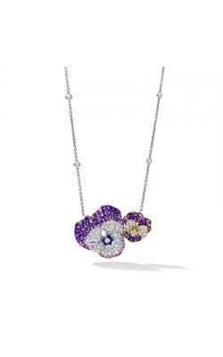 Oscar Heyman Double Pansy Necklace 602056 product image
