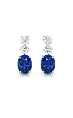 Oscar Heyman Sapphire & Diamond Earrings 706161 product image