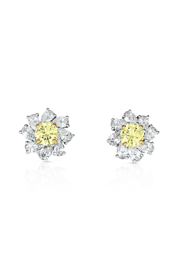 Oscar Heyman Fancy Intense Yellow Diamond Earrings 706310 product image