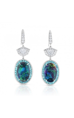 Oscar Heyman Black Opal, Paraiba & Diamond Earrings 706461 product image